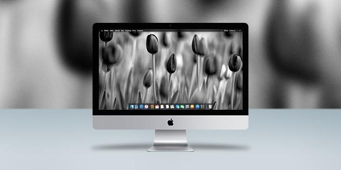 Обои для OS X: миллион оттенков серого