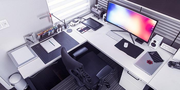 Mac на рабочем столе XIII: интерьеры, построенные вокруг компьютера