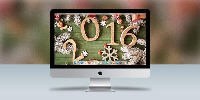 Обои для OS X: Зимние праздники в ультравысоком разрешении 5K