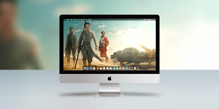 Обои для OS X: Ко всемирному дню «Звездных войн»