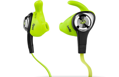 Наушники с Control Talk Monster iSport Intensity (салатовые)