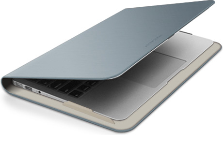 "Чехол Macally AirFolio для MacBook Air 13"" (серебристый)"