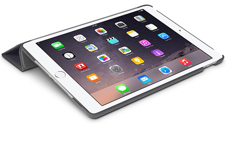 Чехол Macally BStand для iPad Air 2 (серый)