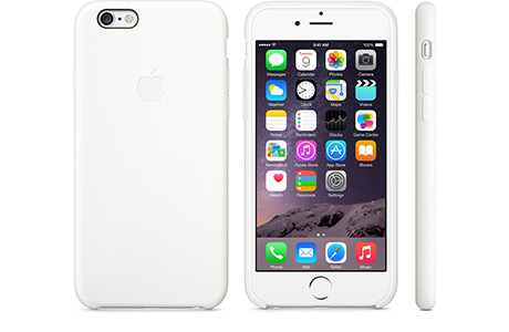 Чехол Apple Silicone Case для iPhone 6/6s (белый)