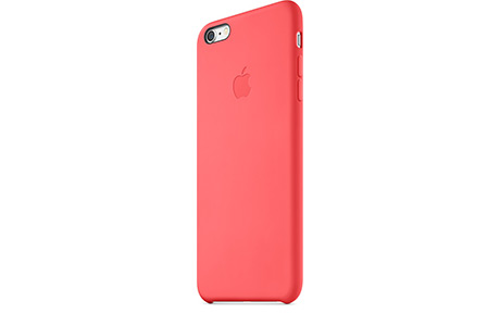 Чехол Apple Silicone Case для iPhone 6 Plus (розовый)