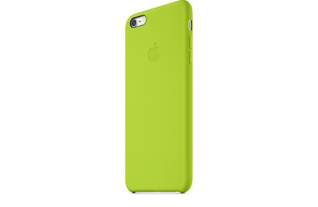 Чехол Apple Silicone Case для iPhone 6 Plus/6s Plus (зеленый)