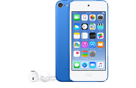 Мультимедийный плеер Apple iPod touch 6G 16 ГБ (синий)
