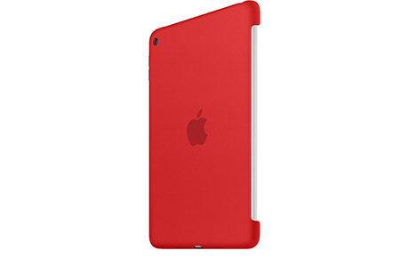 Футляр Apple Silicone Case для iPad mini 4 (красный)