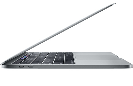 Ноутбук Apple MacBook Pro 13″ Touch Bar, 4×2,4 ГГц, 256 ГБ SSD (серый космос, 2019)