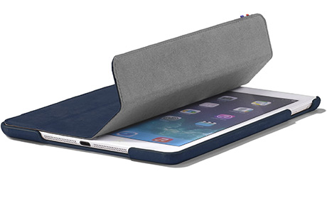 Чехол Decoded Slim Cover для iPad Air 2 (темно-синий)