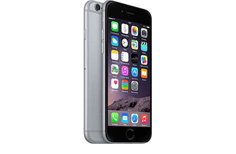 Смартфон Apple iPhone 6 32 ГБ (серый космос)