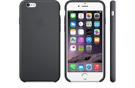 Чехол Apple Silicone Case для iPhone 6 (черный)