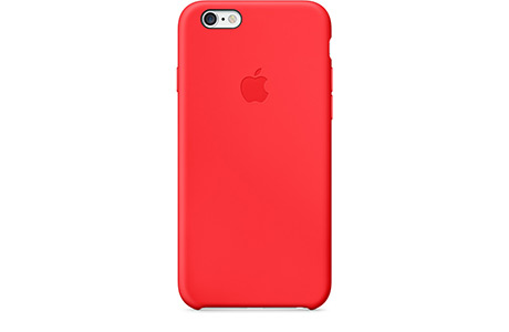 Чехол Apple Silicone Case для iPhone 6/6s (красный)