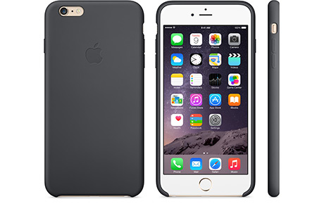 Чехол Apple Silicone Case для iPhone 6 Plus/6s Plus (черный)