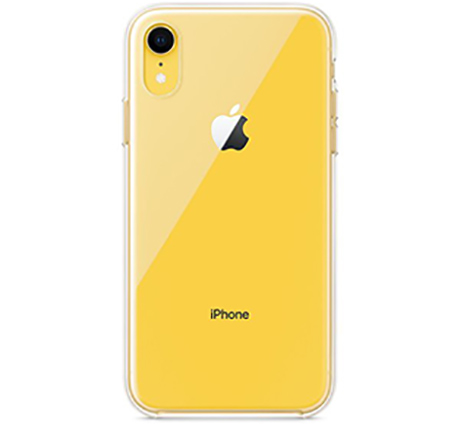 Чехол Apple Silicone Case для iPhone Xr (прозрачный)