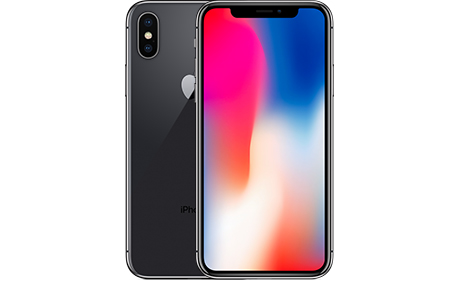 Смартфон Apple iPhone X 256 ГБ (серый космос)