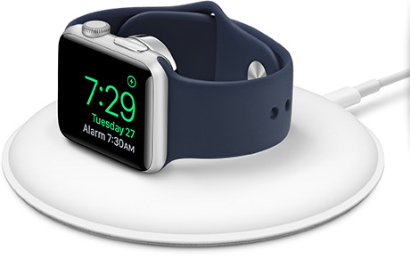 Док-станция Apple Magnetic Charging Dock для Apple Watch (белая)