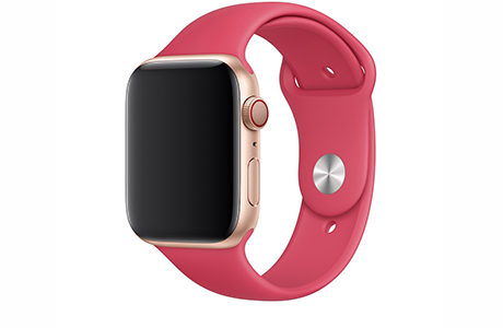 Ремешок Apple Sport Band 42/44 мм (гибискус)