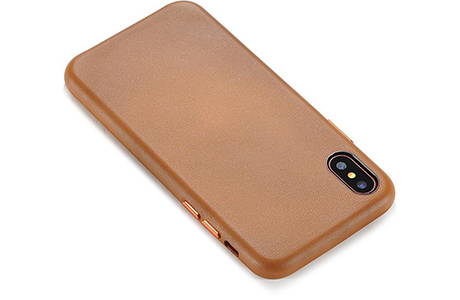 Чехол COTEetCI Elegant PU Leather Case для iPhone X (коричневый)