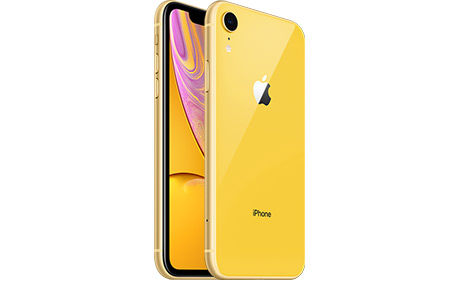 Смартфон Apple iPhone Xr 128 ГБ (желтый)