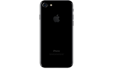 Смартфон Apple iPhone 7 128 ГБ Jet Black 4,7″ (черный оникс)