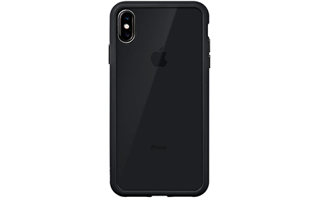 Чехол Laut Accents Tempered Glass для iPhone Xs Max (черный)