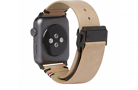 Ремешок Decoded Leather Strap для Apple Watch 42 мм (Сахара)