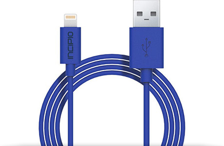 Кабель Incipio Lightning to USB Cable USB — Lightning, 1 м (синий)