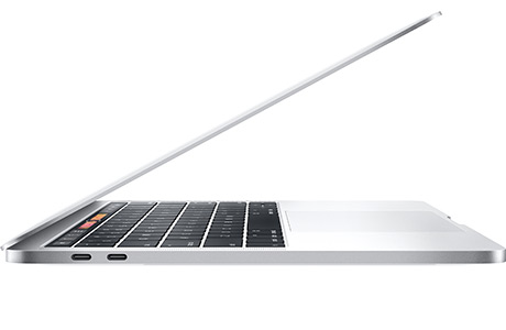 Ноутбук Apple MacBook Pro 15″ TouchBar, 2,9 ГГц, 512 ГБ, 16 ГБ, 4 ГБ VRAM (2016 г., серебристый)