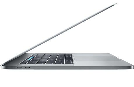 Ноутбук Apple MacBook Pro 15″ TouchBar, 2,6 ГГц, 256 ГБ, 16 ГБ, 2 ГБ VRAM (2016 г., серый космос)