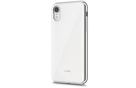 Чехол Moshi iGlaze Slim Hardshell Case  для iPhone Xr (белый)