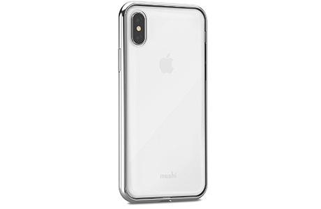 Чехол Moshi Vitros Slim Stylish Protection Case для iPhone Xs / X (серебристый)