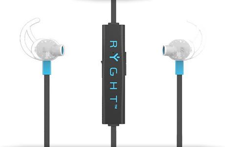 ... Беспроводные наушники Ryght Air Trainer Bluetooth (черно-голубые) ... cbd33e5c355ef