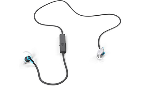 Беспроводные наушники Ryght Air Trainer Bluetooth (черно-голубые) ... b94c519370765