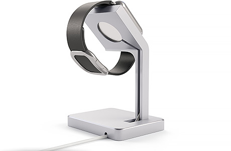 Док-станция Satechi Aluminum Apple Watch Stand для Apple Watch (серебристый)