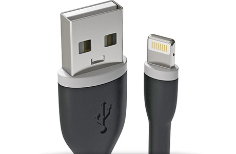 Кабель Satechi Flexible Lightning to USB Cable 0,15 м (черный)