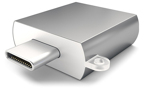 Адаптер Satechi Type-C USB (серый космос)