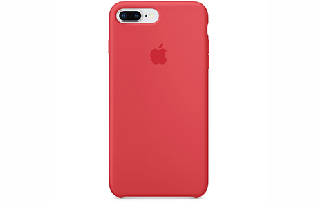 Чехол Silicone Case для iPhone 8 Plus / 7 Plus (красная малина)