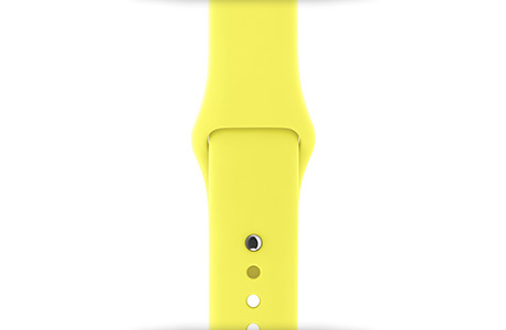 Ремешок Apple Sport Band 38 мм (кислота)