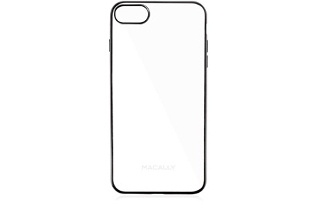 Чехол-накладка Macally Transparent Case для iPhone 7 (черный)