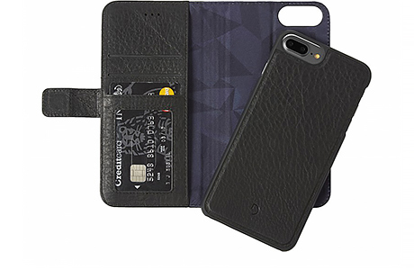 Чехол-портмоне Decoded Leather 2-in-1 Wallet для iPhone 8 Plus / 7 Plus / 6s Plus / 6 Plus (черный)