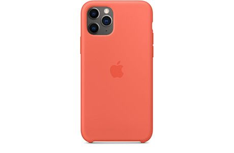 Чехлы для iPhone: Apple Silicone Case для iPhone 11 Pro (спелый клементин)