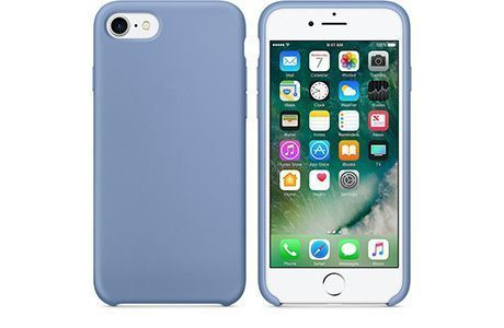 Чехлы для iPhone: Silicone Case для iPhone 8 (лазурный)