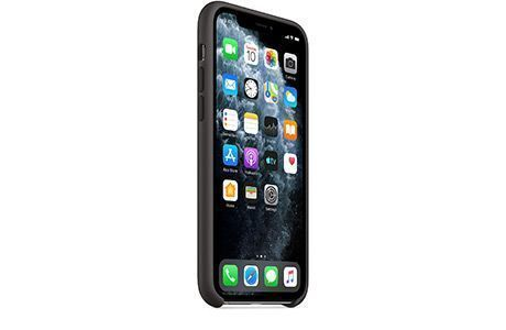 Чехлы для iPhone: Apple Silicone Case для iPhone 11 Pro Max (черный)