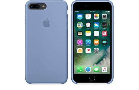 Чехлы для iPhone: Silicone Case для iPhone 8 Plus (лазурный)