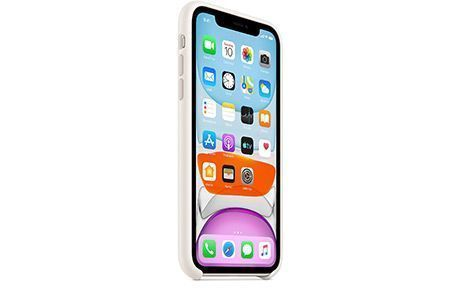 Чехлы для iPhone: Apple Silicone Case для iPhone 11 (белый)